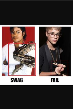 "Justin jus ain't ""The One""  Like damn MICHAEL JACKSON IS THE ONE SON"