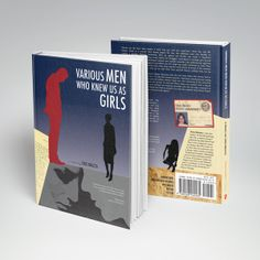 Book cover redesign for Various Men Who Knew Us As Girls by Cris Mazza. Published by Emergency Press.
