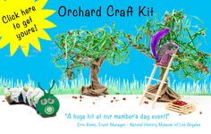 Squirrel King craft kits inspire imagination and are eco-friendly. We're nuts for creativity!
