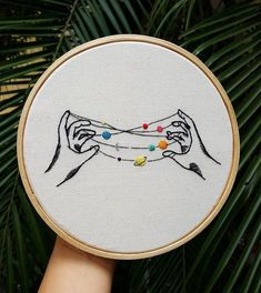 Embroidery Designs Patterns 50 Easy DIY Embroidery Shirt Designs You Can Do By Hand - A closet staple that's currently trending is embroidered apparel. Albeit charming, the quirky embroidery designs you adore are not at the… Diy Embroidery Shirt, Simple Embroidery, Hand Embroidery Stitches, Modern Embroidery, Embroidery Hoop Art, Hand Embroidery Designs, Vintage Embroidery, Cross Stitch Embroidery, Machine Embroidery