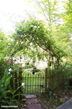 garden gate - blue willow farm