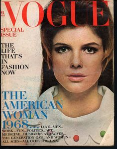 Katharine Ross in VOGUE, May 1968.  L*O*V*E