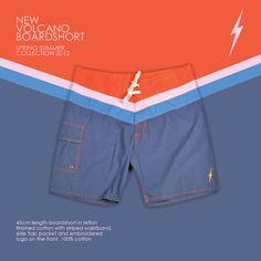 de5d6547d6e Lightning Bolt Spring Summer 2012 - New Volcano Boardshort