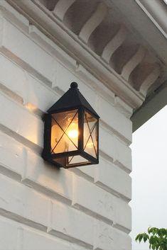 Brass Traditions Lighting 531 Wall Lantern in Flat Black finish Outdoor Barn Lighting, Coastal Lighting, Outdoor Wall Lantern, Porch Lighting, Farmhouse Lighting, Outdoor Walls, Lighting Ideas, Outdoor Flush Mounts, Outdoor Sconces