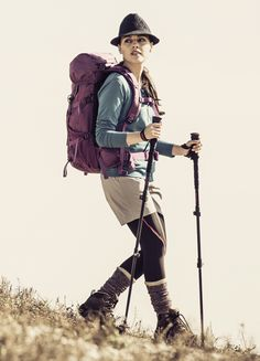 Millions of hikers head to local and foreign trails every year without completing a hiking training program. Outdoor Outfit, Outdoor Gear, Outdoor Apparel, Trekking Outfit, Hiking Wear, Mountain Fashion, Hiking Training, Nordic Walking, Hiking Fashion