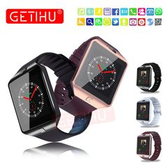 Best Price GETIHU Smart Watch Digital Wrist with Men Bluetooth Electronics SIM Card Sport Smartwatch For iPhone Samsung Android Phone Samsung Android Phones, Samsung 9, Android Watch, Smartwatch Bluetooth, Wireless Headphones, Cool Watches, Watches For Men, Electronic Cards, Iphone