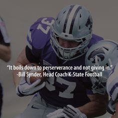 Inspiration to persevere from Coach Synder