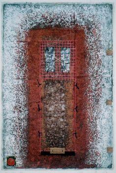 D-1.Sep.1997 painting, collage 林孝彦 HAYASHI Takahiko 1997