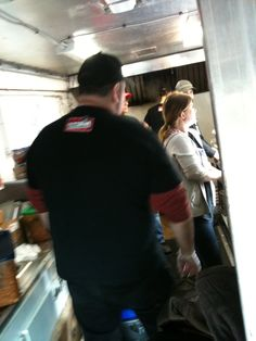 Food Truck Crew going at it! Busyy