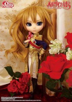 Lady Oscar / Rose of Versailles dolls poupées OOAK