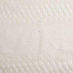 Famous Designer Off-White Raschel Novelty Knit