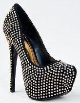 M11027B-6H Designer Inspired Studded Platform High Heel Stiletto Pump ZOOSHOO From Posh - Bags or Shoes Shop