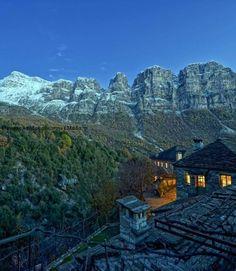 Papigo village in Epirus