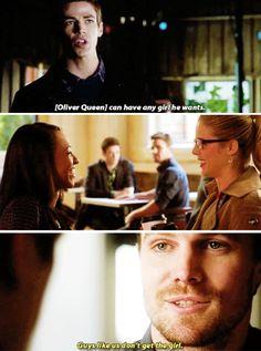 Oliver Queen and Barry Allen #TheFlashvsArrow #1.8