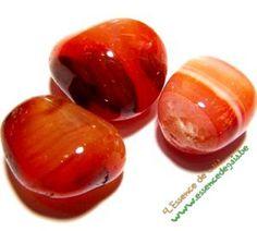 cornalines roulées ce sont des pierres utilisés en lithothérapie
