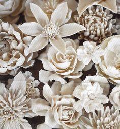 Vladimir Kanevsky's porcelain flowers.