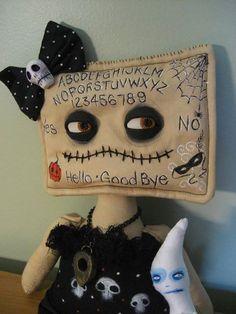 Ouija Board Doll