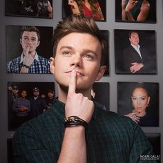 A dumb human like you. Mon Cheri, Glee Quotes, Glee Cast, Chris Colfer, Cory Monteith, I Miss Him, Darren Criss, Best Shows Ever, Celebrity Crush