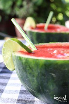 Strawberry Watermelon Margaritas