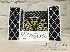 The Craft Spa - Stampin' Up! UK independent demonstrator - Order Stampin Up in UK: U Fold Card Tutorial for Fancy Fold Friday Fun Fold Cards, Folded Cards, Birthday Blast, Bridge Card, Star Cards, Fathers Day Cards, Graduation Cards, Congratulations Card, Card Tutorials