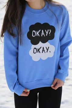 Om word!!! Fault in our stars shirt! Wow! Christmas present right there!