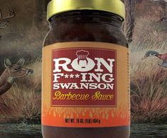 A prized cut of quality meat doesn't need seasoning. However, if you absolutely must season it, the only acceptable choice is Ron Swanson BBQ sauce. This brand needs no sales pitch - if it's good enough to bear the Swanson name, it's good enough for you.