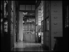 Late Spring, Yasujiro Ozu. Empty frames.
