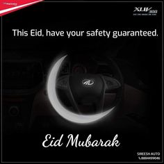 In a year when everything seems uncertain, we can guarantee your safety with India's safest car - the XUV300. Wishing you and your family a blessed Eid Mubarak! #eidmubarak #eid #eidulfitri #ramadaneid #stayhome #staysafe #lockdowneid #ramadhan #eidcollection #happyeid #Mahindra #sireeshauto #silkboard #MahindraRise #MahindraAuto #XUV300 #MahindrXUV300 #TakeOnAnything #CarsofInstagram #MahindraLove #SpecialOffers #Discount #OnlineBooking #InstaCar #HyperLocalMahindraMay21 #Cargasm… Happy Eid, Eid Collection, Eid Mubarak, Ramadan, Safety, Blessed, Car, Security Guard, Automobile