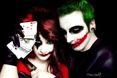 The Joker & Harley Quinn  If I had a GF I'd totally cosplay this with her