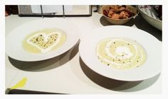 Palm heart soup Palm, Soup, Heart, Tableware, Recipes, Dinnerware, Tablewares, Recipies, Soups