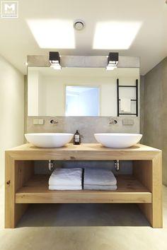 Badkamer betonstuc