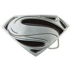 Mens Superman Belt Buckle