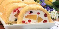 Túrós gyümölcsalagút | Vidék Íze Pudding, Cake, Food, Custard Pudding, Kuchen, Essen, Puddings, Meals, Torte
