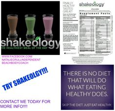 MESSAGE ME TODAY IF YOU ARE READY TO GET HEALTHY JUST IN TIME FOR SUMMER!!!! TASTES GREAT AND  AMAZING HEALTH BENEFITS (ONE SHAKE = THE NUTRITION IN 5 PLATES OF SALAD!!!!) GIVE YOUR BODY WHAT IT HAS BEEN CRAVING!!!!!