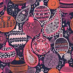 Bohemian Christmas Art Print