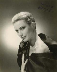 Grace Kelly, un-retouched studio photo by Bud-Fraker