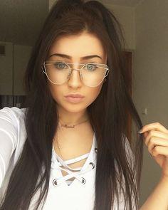 #selfie #polskadziewczyna #polishgirl #me #glasses #girl #makeup