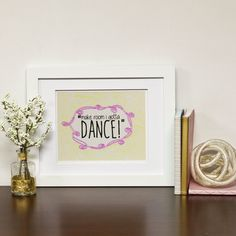 Sharpie Gallery Art With Optional Frame Make by SimplyBeautifulDes