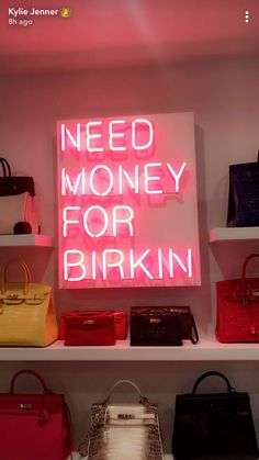 The latest trend in celebrity home decor is one we can all get on board with: neon signs. Bedroom Wall Collage, Photo Wall Collage, Picture Wall, Vaporwave, Baddie, Neon Signs Home, Cute Canvas Paintings, Pink Themes, Need Money