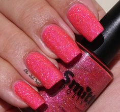 Smitten Polish: In October, We Wear Pink From the Cupcake Polish Sweet Addictions Box: October Edition