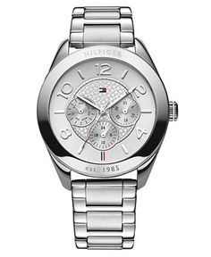 Tommy Hilfiger Watch, Women's Stainless Steel Bracelet 40mm 1781215 - Women's Watches - Jewelry & Watches - Macy's