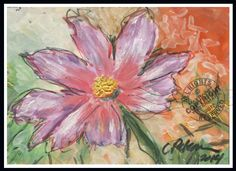 Amazon.com: Grand Dame Blossom in My Garden 2014 : Plain Air Flower Abstract ACEO Fine Art Print made from original sketch oil painting by Cathy Peterson (miniature 2.5 x 3.5 in): Handmade #amazing #perfect #fantastic #inspiration #miniature #ADEO #painting #happy #yummy #drawing #ART #original #artprint #signed #collectible #ModernArt #moda #followme #nice #contemporary #artist #salon #artwork #Girl #boy #play #you #daisy #flower #cosmos #garden #plainair