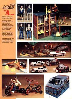 The A Team Toys Vintage