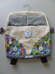 Combi van peg bag sewing pattern