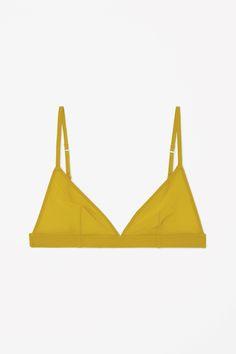 COS | Solid colour triangle bra