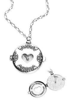 Disney Couture - Alice In Wonderland Pocket Watch - Collana by Alice in Wonderland