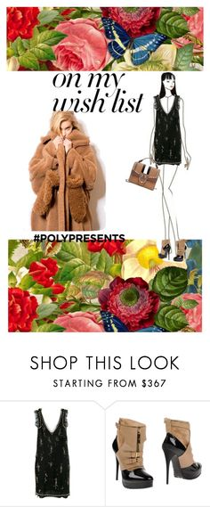 """#PolyPresents: Wish List"" by diannecollier ❤ liked on Polyvore featuring MSGM, Elisabetta Franchi, MaxMara, contestentry, polyvoreeditorial and polyPresents"