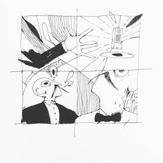 Inktober no9 - snooty Butlers carrying things on trays #inktober #inktover2016 #inked #hands #beard #mustache #abstract  ___ #illustration #art #artist #instaart #dailyart #artoftheday #doodleartist #pen #pencil #drawing #drawings #sketch #scribble #picoftheday #sketchbook #doodle #kunst #dessin #dibujo #newartwork #instadaily