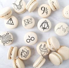 Harry Potter macaroons