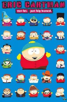 Opening Sequence Mini Poster 50cm x 40cm new and sealed South Park